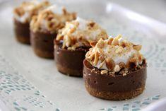 Mini Nutella Cheesecake