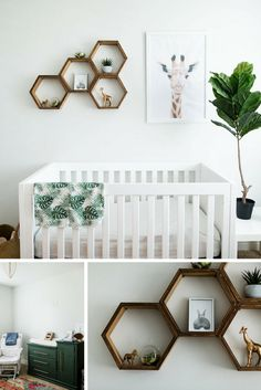 Crib HERE | Light Fixture  HERE | Fiddle Leaf Tree HERE | Rug HERE |  Seagrass Basket HERE | Animal Prints HERE | Crib Blanket HERE  Gender Neutral Nursery  After posting a few pics on Instagram of the nursery we put together for  the new babe, I got tons of