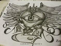 Tatuajes de corazones - Dibujos de corazones - Dibujos corazon - Zartiex 2015