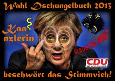Lügenpresse sucht neue Identität, jetzt AngstPresse kaanzlerin_wahlkampf_2013_schlange_dschungelbuch_kanzlerin_merkel_beschwoerung_stinkefinger_duell_peer_steinbrueck