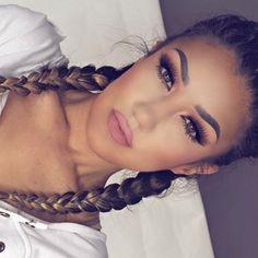 Imagem de girl, makeup, and beauty