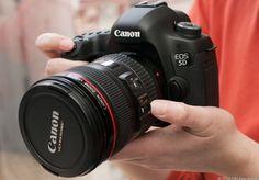 Canon EOS 5D Mark III via @CNET