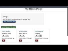 Backchannel Chat For Google Apps