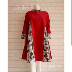 Image may contain: people standing Pakistani Fashion Casual, Hijab Fashion, Fashion Outfits, Kurta Designs Women, Blouse Designs, African Fashion Dresses, African Dress, Mode Batik, Batik Fashion
