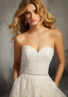 Mori Lee Bridal 8273 wedding dress available at The Castle. We are an authorized retailer for all Mori Lee Bridal dresses and every 8273 is brand new with all original tags! Mori Lee Bridal, Mori Lee Wedding Dress, Classic Wedding Dress, Wedding Dress Sleeves, Elegant Wedding, Lace Wedding, Dream Wedding, Wedding Dresses Photos, Bridal Wedding Dresses