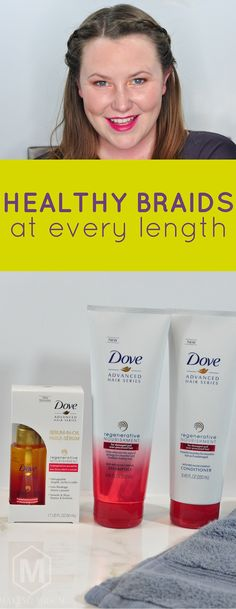 Get gorgeous braids for long and short hair with the @dove Regenerative Nourishment Collection. AD #MyHairStory #DovePartner #Pmedia