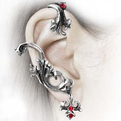 have a thing for wrap earrings now :) Gothic Sylvanus Wrap Earring $23.23