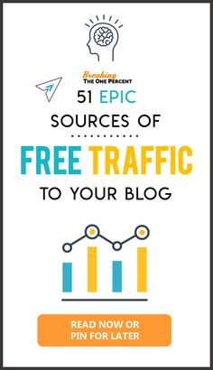 Want to get free traffic to your website? Want to generate leads, increase sales, and promote your business? Check out this AMAZING list of 50 ways to get free traffic to your website and take your marketing game to another level. Business Checks, Business Tips, Online Business, Business Opportunities, Business Website, Wordpress For Beginners, Blogging For Beginners, Make Money Blogging, How To Make Money