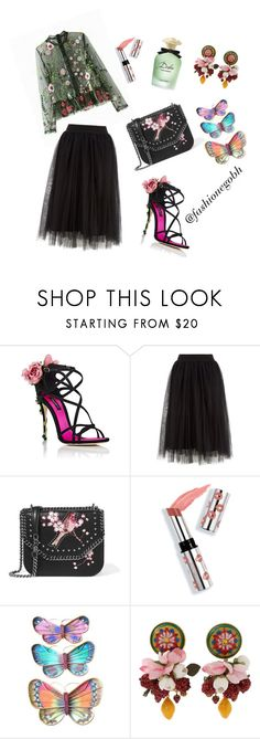 """""""the elegant garden"""" by lightbird ❤ liked on Polyvore featuring Dolce&Gabbana, STELLA McCARTNEY and Ciaté"""