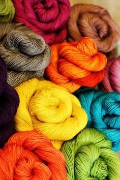 Elizabeth Bennet  hand dyed to order  Fall Palette by ShopYarnLove, $13.00