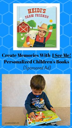 #SponsoredAd #iseemebooks A review of a beautiful personalized children's book that I received for free from I See Me! in exchange for my opinion and sharing on social media. via @pursueproject