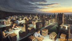 Роб Гонсалвес  (Rob Gonsalves) Towers of Knowledge