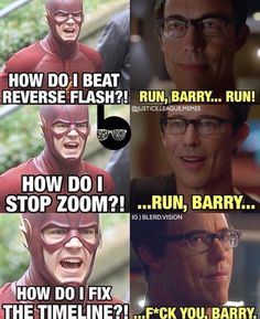 Barry and his timeline fun