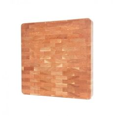 "Start chopping in style with the J.K. Adams 16"" x 16"" Cherry Chunk Cutting Board, available at the Food Network Store"