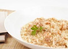 Arroz caldoso de pollo y gambas para #Mycook… Risotto, Grains, Rice, Cooking, Ethnic Recipes, Food, Yum Yum, Diabetes, Recipes With Rice
