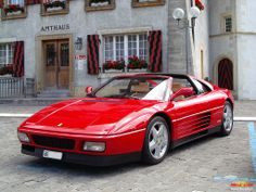 Hobby Cars, Ferrari 348, Red Heads, Fuel Injection, Car Manufacturers, Fiat, Supercars, Race Cars, Euro