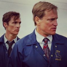 True Detective. McConaughy, Harrelson