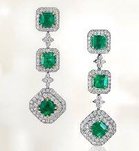 #BlueNile #Emerald - Whatever...I LOVE green jewelry!