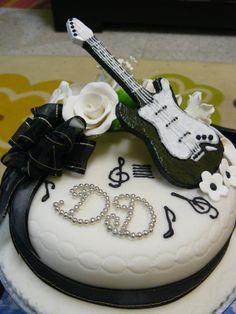 Guitar Themed Wedding | fresh from the oven: Guitar Fondant Cake