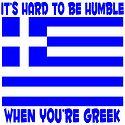 it isn't easy being Greek