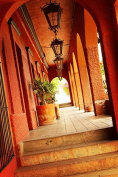 The Original Hotel California in Todos Santos, only an hour outside of La Paz, Baja California Sur, Mexico
