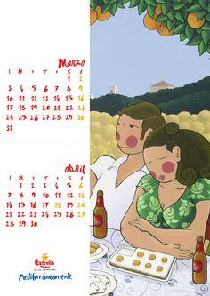 calendari estrella marzo/abril