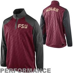 Florida State Seminoles Nike Performance Quarter Zip Pullover Jacket