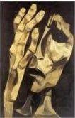 The Cry (1983) - Oswaldo Guayasamin (Ecuadorian: 1919-1999) - Right