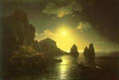 Une vue sur la mer - (Ivan Konstantinovich Aivazovsky)