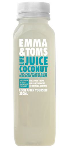 Coconut Water Life Juice by Emma & Tom's