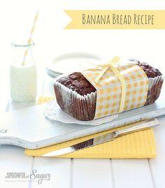 Banana Bread - A Spoonful of Sugar