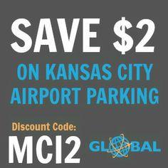 MCI Kansas City Airport Parking Coupon