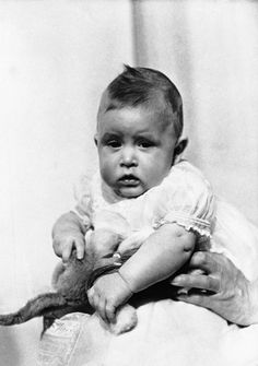 1949: Prince Charles, son of then-Princess Elizabeth and the Duke of Edinburgh, at 19 weeks old. (AP Photo)