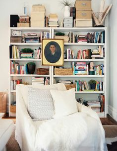 small home library space