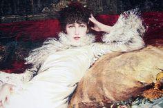 Sauzon pointe des Poulains musée Sarah Bernhardt tableau