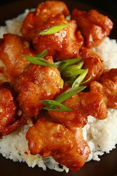 Gluten Free Spicy Orange Chicken