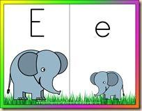 Letter E sorting