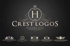 Check out Heraldic Crest Logos Vol.5 by Zeppelin Graphics on Creative Market