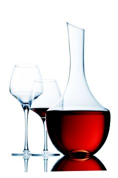 Chef & Sommelier Collection Open Up Carafe, Le Chef, Open Up, Wine Decanter, Red Wine, Sommelier, Wine Glass, Alcoholic Drinks, Dining