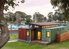 Cargo Container Home. Watch me building my cargo container home. Search and find local help that you may need for building your cargo container home at a minimal cost. Container Shop, Cargo Container Homes, Building A Container Home, Container Cabin, Container Buildings, Storage Container Homes, Container Architecture, Container House Plans, Container Design