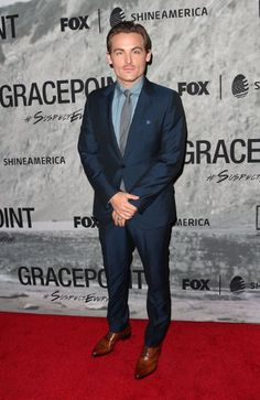 Kevin Zegers at event of Gracepoint (2014)