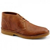 Loake Shoes – Kalahari – Desert Boots – Brown Waxy