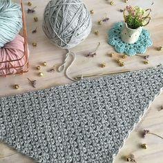 Chal Emma - Patrón Gratuito de Crochet - Las Varetas Crochet