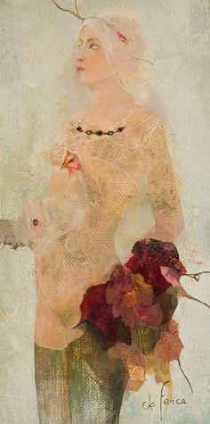 Oil on canvas 100 x 50 cm L'art Du Portrait, Portraits, Inspiration Art, Art Design, Beautiful Artwork, Figure Painting, Figurative Art, Female Art, Les Oeuvres