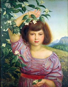 Otto Dix Nelly als Flora
