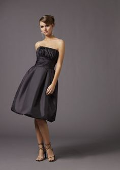 Vestidos império pretos