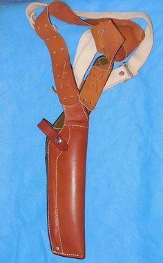 Bucheimer Clark 156LE BROWN Leather Shoulder Holster     eBay