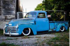 54 Chevy Truck, Chevrolet 3100, Chevrolet Trucks, Vintage Pickup Trucks, Vintage Cars, Antique Cars, Show Trucks, Gm Trucks, Lowered Trucks
