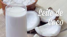 Este leite de coco caseiro é ótimo puro, quentinho, com café ou cacau, com…