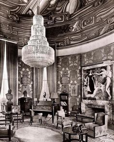 Grand Salon, Paris, Émile Jacques Ruhlmann, C. 1925